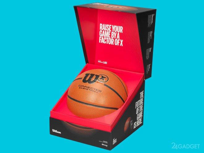 Умный баскетбольный мяч ведёт статистику пользователя (10 фото + 2 видео)