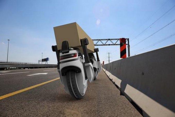 Концепт дрона для перевозки грузов (6 фото + видео)
