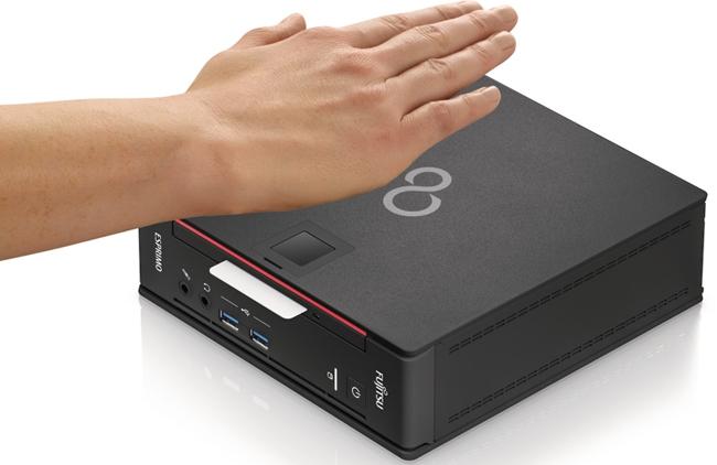 Fujitsu Esprimo Q956 — мини-компьютер с биометрической защитой (2 фото)