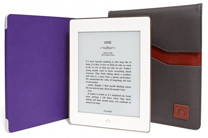 Электронная книга Nook GlowLight Plus не боится воды и пыли (8 фото + видео)