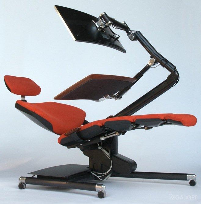 Компьютерное кресло TetChair Oxford хром Beige 36-34/36-34/06