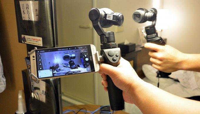 DJI Osmo — компактная 4К-камера с ручным стабилизатором (8 фото + видео)