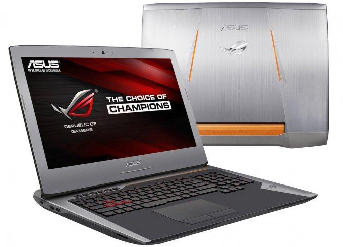 Раскрыты характеристики геймерских ноутбуков серии ASUS ROG G752 (4 фото + видео)