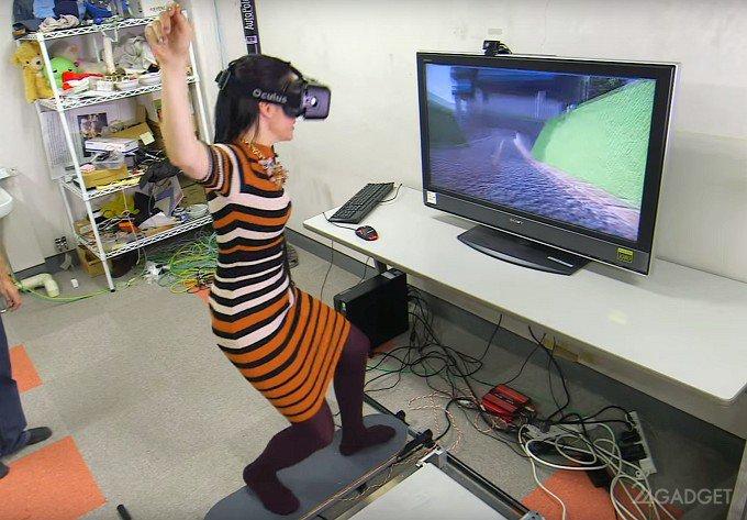 VR-симулятор езды на скейтборде