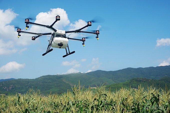 Agras MG-1 — сельскохозяйственный дрон от DJI (3 фото + видео)