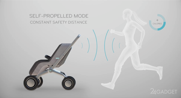 Самодвижущаяся детская смарт-коляска (8 фото + видео)