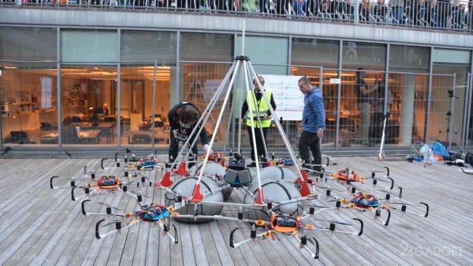 Норвежский дрон стал рекордсменом по грузоподъёмности (видео)