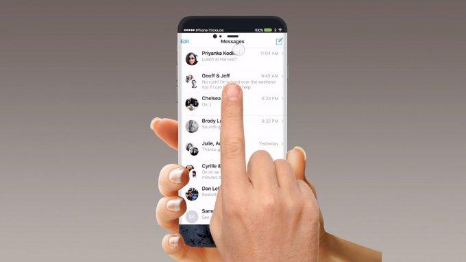 Безрамочный iPhone 7 с новыми возможностями (8 фото + видео)