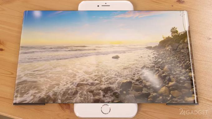 iPhone 7 с расширяющимся экраном (6 фото + видео)