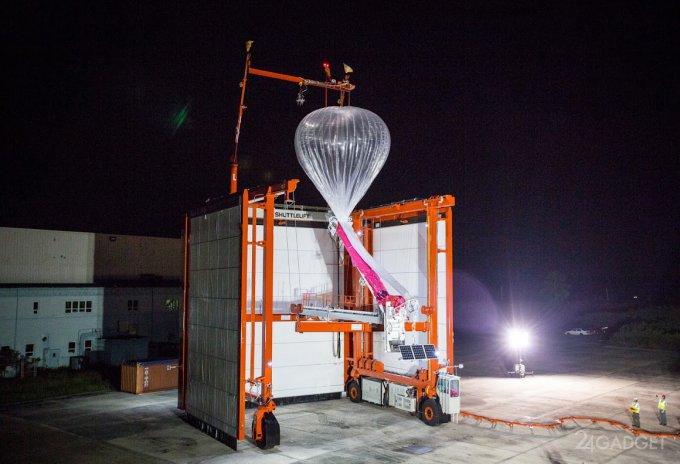 Автоматическая установка для запуска интернет-шаров Project Loon (8 фото + видео)