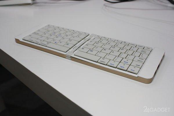 Мини-ПК в формате складной клавиатуры ( фото + видео)