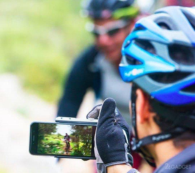 Фоточехол, управляющий камерой iPhone через ультразвук (24 фото + видео)