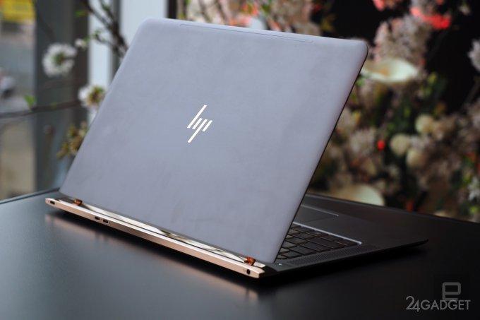 Самый тонкий в мире ноутбук HP Spectre 13.3 потеснит Apple MacBook (28 фото + видео)