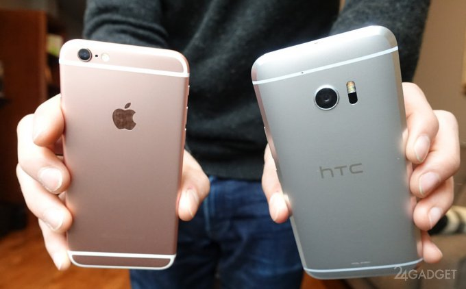 Сравнение качества снимков с HTC 10 и Apple iPhone 6S (13 фото)