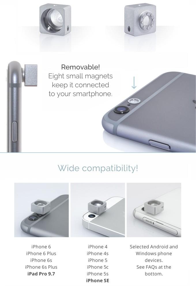 Усилитель для вспышки смартфона (9 фото + видео)