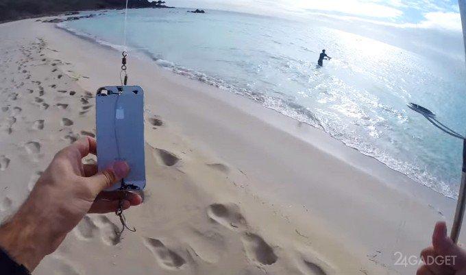 Ловля рыбы на iPhone (видео)