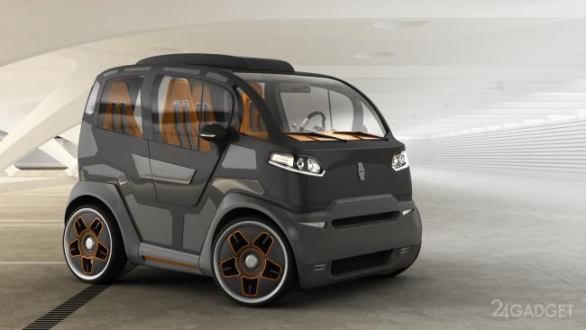 Городской мини-автомобиль от российских дизайнеров (20 фото)