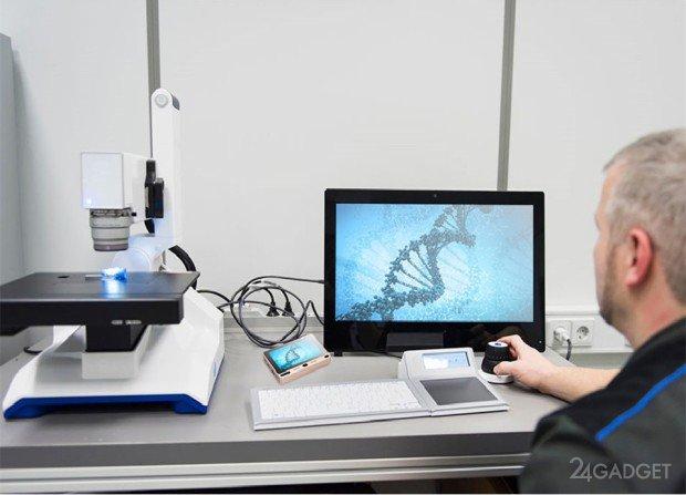 Карманный моноблок с сенсорным экраном и двумя ОС (12 фото + видео)