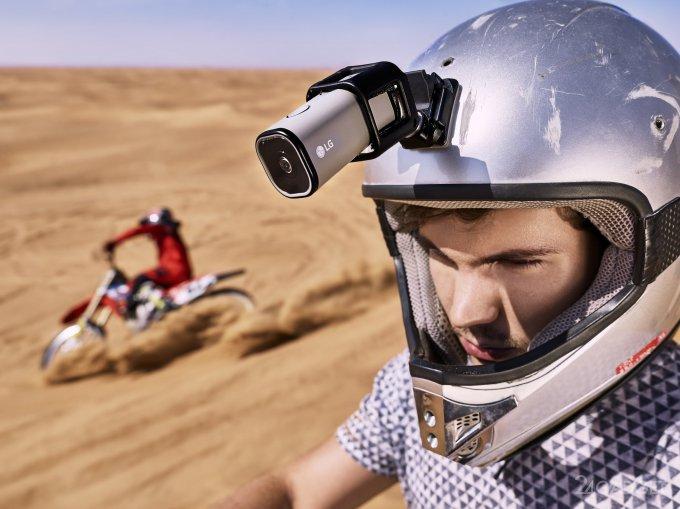 Экшн-камера с возможностью стриминга (7 фото)