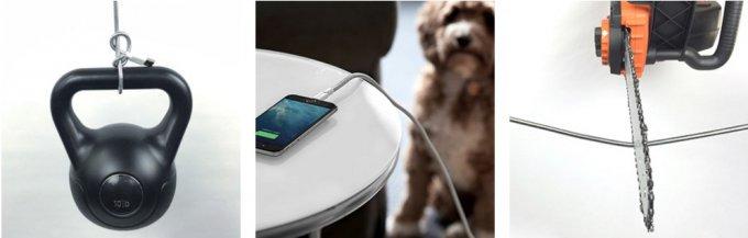 Несокрушимый TITAN Lightning-кабель для iPhone проверили на прочность (4 фото + видео)