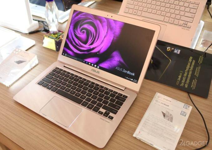 Ультрабук c дисплеем QHD+ и 12-часовой автономностью (7 фото)