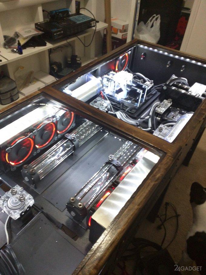 Как обновить компьютерный стол своими руками фото 416