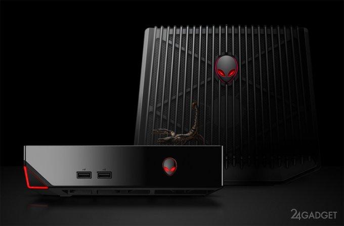 Alienware Alpha R2 — геймерский мини-ПК (5 фото + видео)