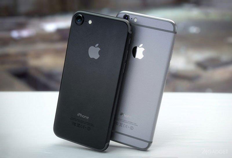 Iphone 7 какие цвета