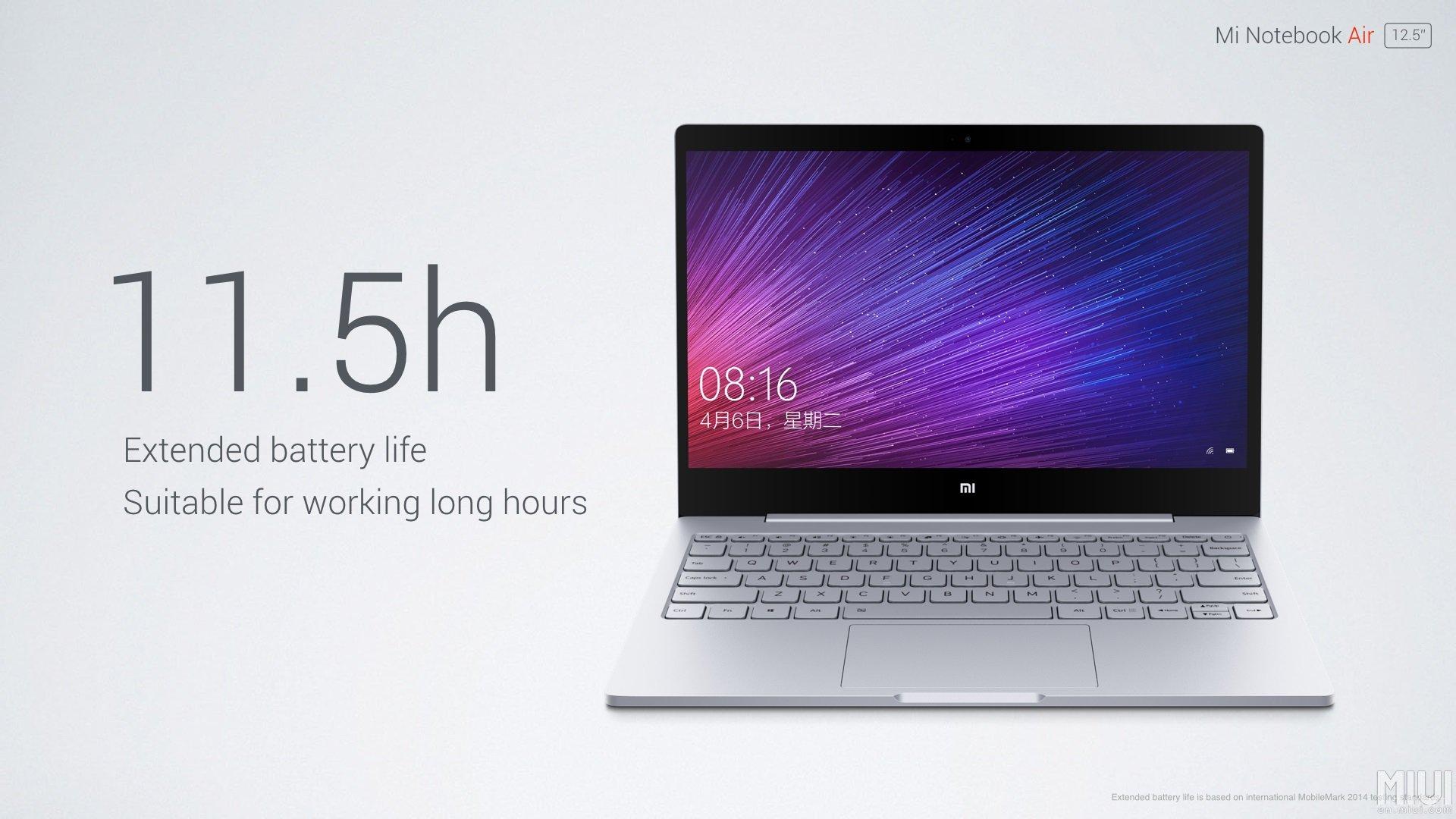 Продажи Xiaomi Mi Notebook Air в Китае стартуют 2