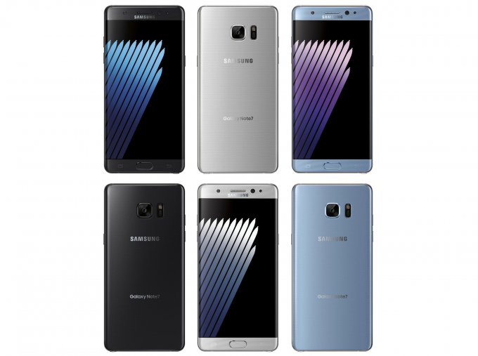 Первые официальные изображения Samsung Galaxy Note 7 (6 фото)