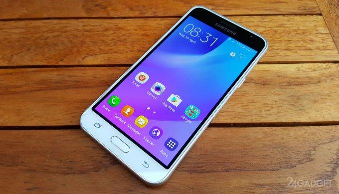 Samsung Galaxy J2 Pro - смартфон со светодиодным кольцом Smart Glow (3 фото)