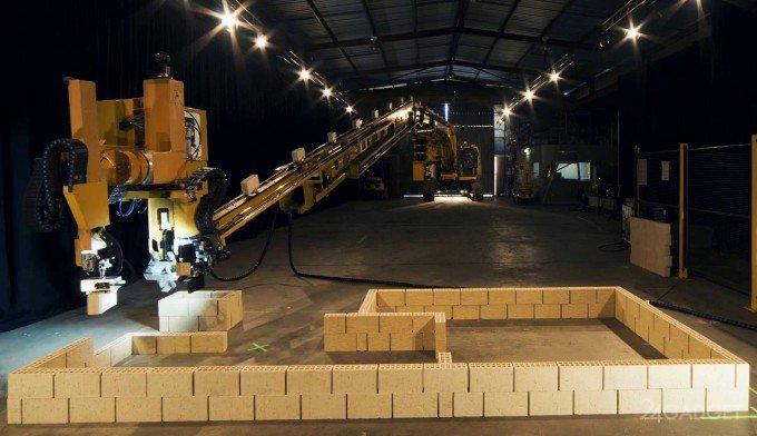 Робот-каменщик возведёт дом за два дня (5 фото + видео)
