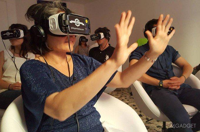 Новая VR-гарнитура Samsung Gear VR стала еще удобнее (9 фото)