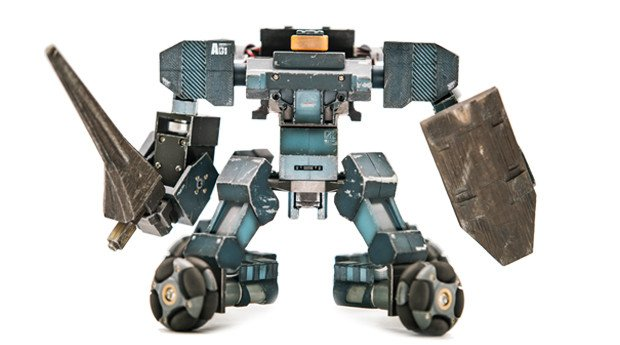 Робот ганкер своими руками 24