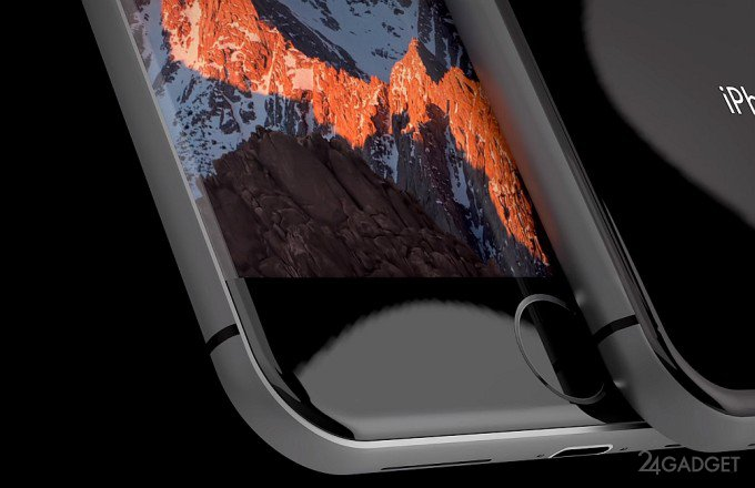 iPhone 8 с безрамочным OLED-дисплеем и 4К-камерой (4 фото + видео)