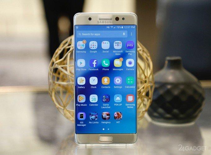 Galaxy Note 7 - тесты на царапины, сгибание и застревание стилуса (2 видео)