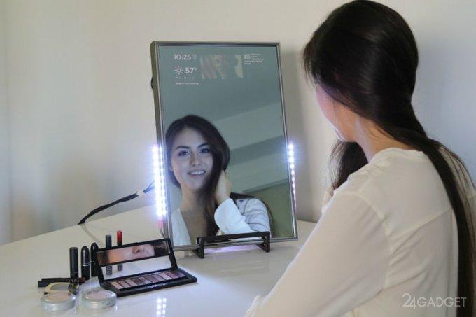 Смарт-зеркало показывает больше, чем просто отражение (9 фото + видео)