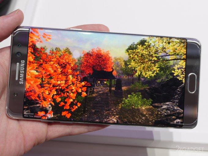 Первые результаты тестирования и фотоснимки с Galaxy Note 7 (17 фото)