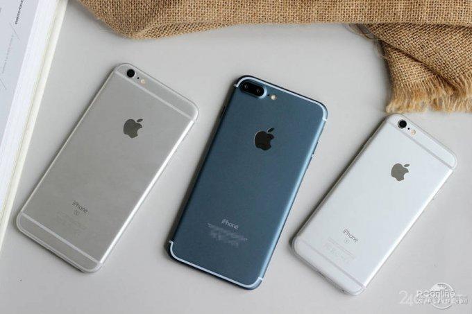 Первые снимки работающего iPhone 7 Plus в синем корпусе (15 фото)