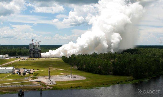 В NASA протестировали двигатель для полетов на Марс (5 фото + видео)