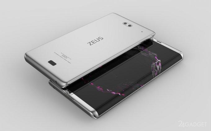 Смартфон Zeus в новом для Sony дизайне (15 фото + видео)