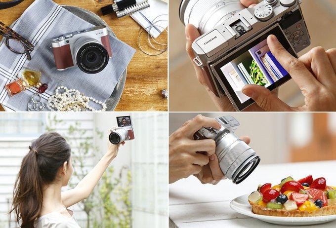 Fujifilm X-A3 — беззеркалка с поворотным дисплеем (9 фото + видео)