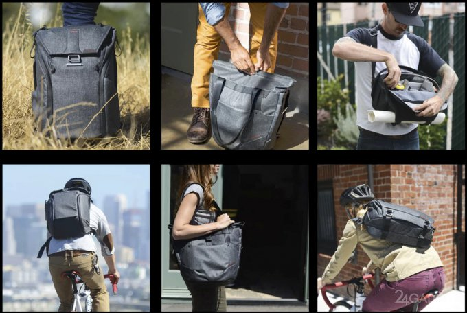 Продуманные сумки на каждый день и для путешествий (9 фото + видео)