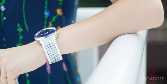 FES Watch U - часы от Sony на основе технологии E-ink (13 фото + видео)