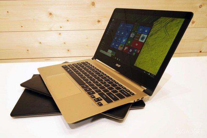 Acer Swift 7 назван самым тонким ноутбуком в мире (19 фото)