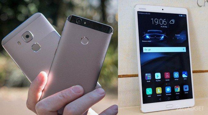 Новинки Huawei - смартфоны серии Nova и планшет MediaPad M3 (19 фото + видео)