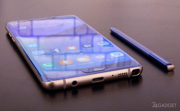 На заменённые Galaxy Note 7 поступают новые жалобы