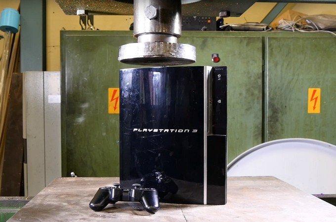 Тест PlayStation не для слабонервных геймеров (видео)