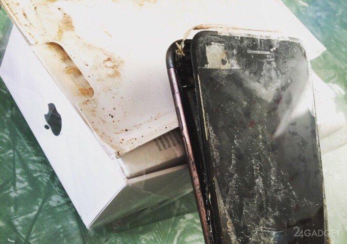 iPhone 7 тоже взрываются? (6 фото)