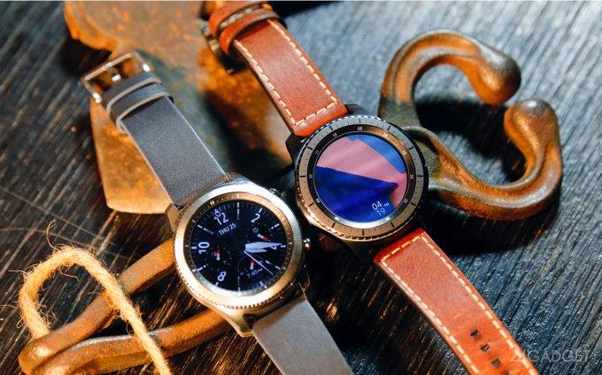 Gear S3 Classic и Gear S3 Frontier - умные часы Samsung (48 фото + видео)
